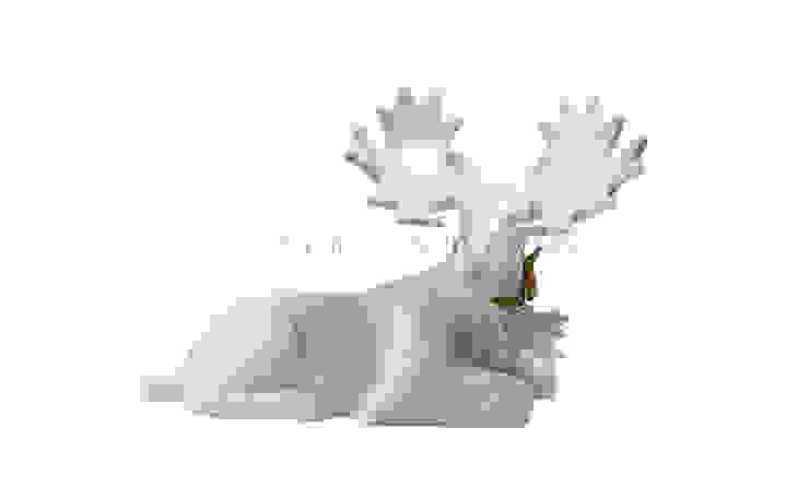 Фигурка декоративная Лось V725 от LeHome Interiors Классический Керамика