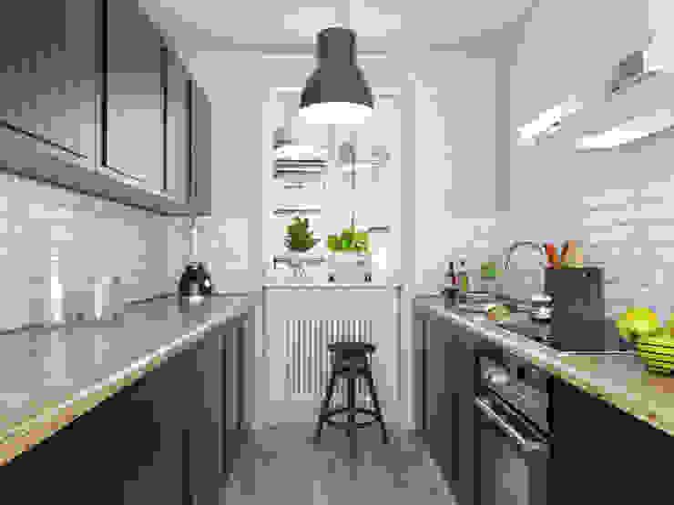 Cocinas de estilo clásico de FOORMA Pracownia Architektury Wnętrz Clásico
