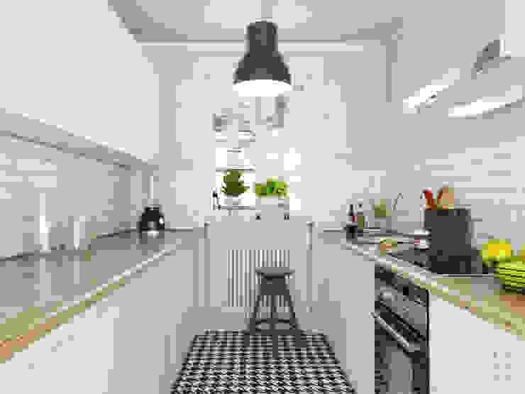 Retro Kuchnia Klasyczna kuchnia od FOORMA Pracownia Architektury Wnętrz Klasyczny