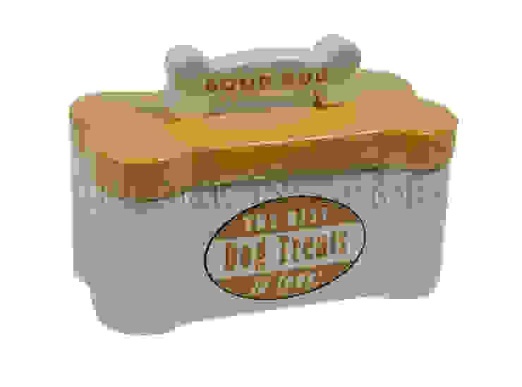 Емкость для хранения корма для кошек/собак V846 от LeHome Interiors Классический Керамика