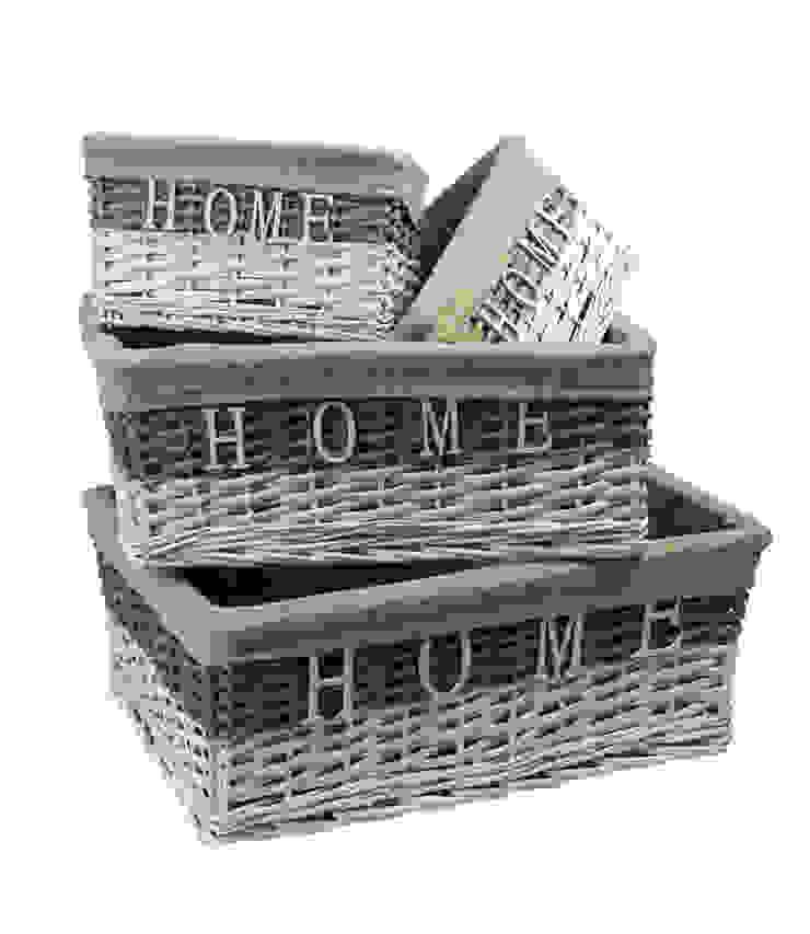 "Набор корзин ""HOME"" V850 от LeHome Interiors Классический Дерево Эффект древесины"