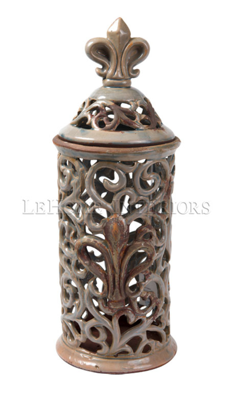 Емкость для хранения V882 от LeHome Interiors Классический Керамика