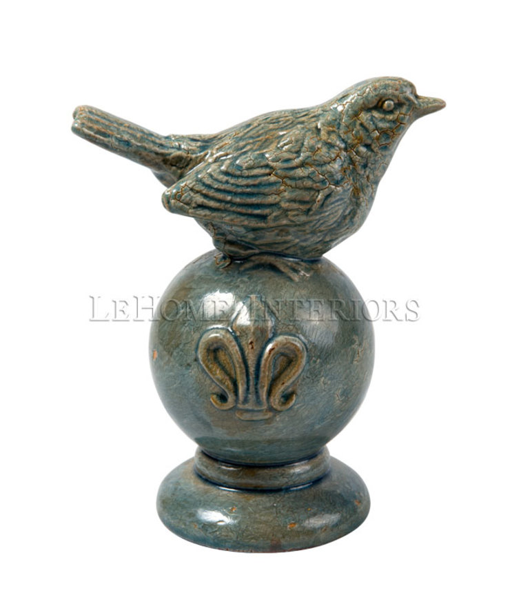 "Фигурка ""Птица"" V893 от LeHome Interiors Классический Керамика"