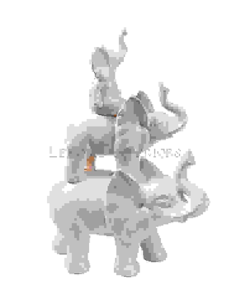 "Фигурка ""Слон"" V915 от LeHome Interiors Классический Керамика"