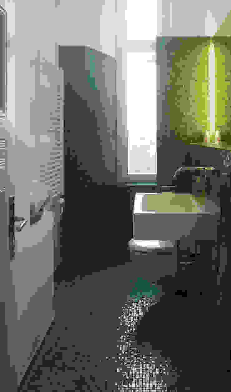 Modern style bathrooms by Meylenstein Modern Glass