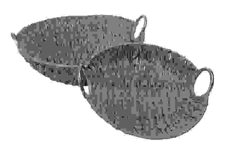 Корзина Arvin (набор из 2-х штук) V943 от LeHome Interiors Классический Сизаль / Солома Синий