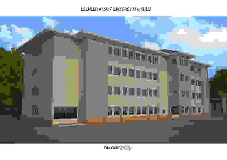 Modern schools by GENT İÇ MİMARLIK Modern