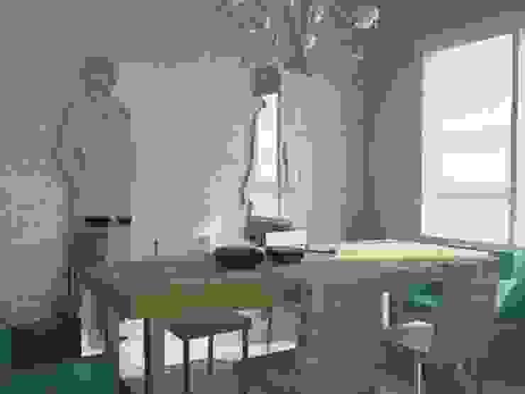 KOZYATAĞI KONUT PROJESİ Modern Yemek Odası GENT İÇ MİMARLIK Modern