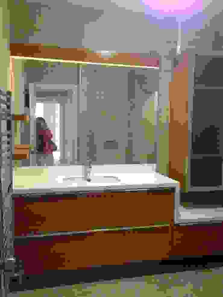 SARIYER KONUT PROJESİ Modern Banyo GENT İÇ MİMARLIK Modern