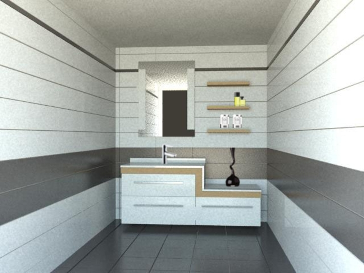 Baños de estilo moderno de GENT İÇ MİMARLIK Moderno