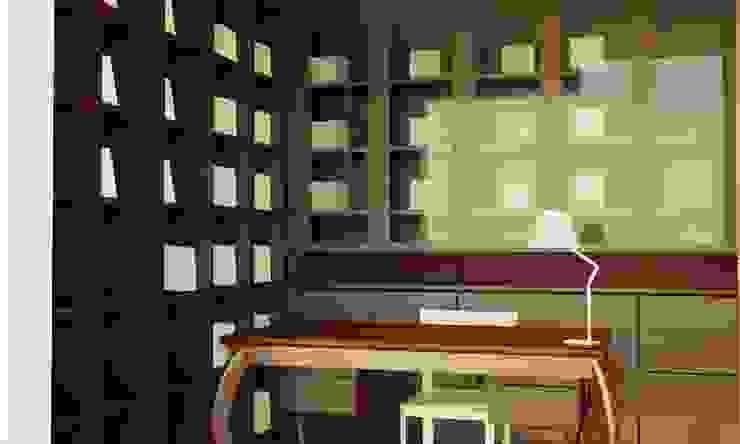 KONUT PROJESİ Modern Çalışma Odası GENT İÇ MİMARLIK Modern