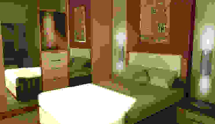 KONUT PROJESİ Modern Yatak Odası GENT İÇ MİMARLIK Modern