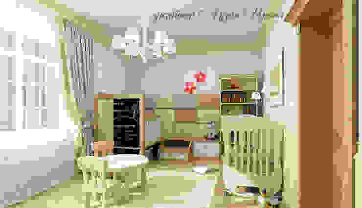 Nursery/kid's room by Творческая мастерская Лузан Ирины, Classic