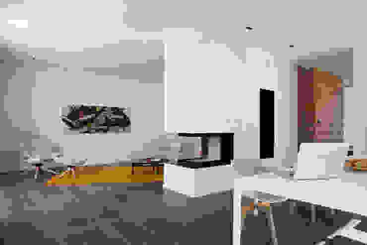 Wohnraum Moderne Esszimmer von Fichtner Gruber Architekten Modern