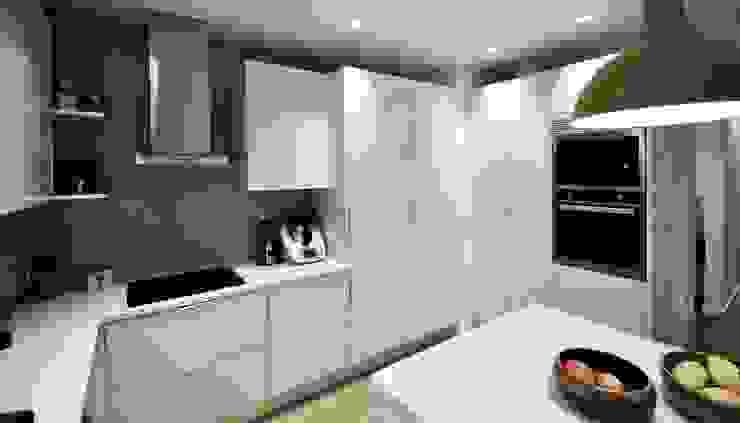 Nhà bếp phong cách hiện đại bởi MARQA - Mello Arquitetos Associados Hiện đại