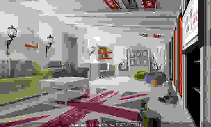 Детская игровая комната Детская комнатa в скандинавском стиле от Творческая мастерская Лузан Ирины Скандинавский