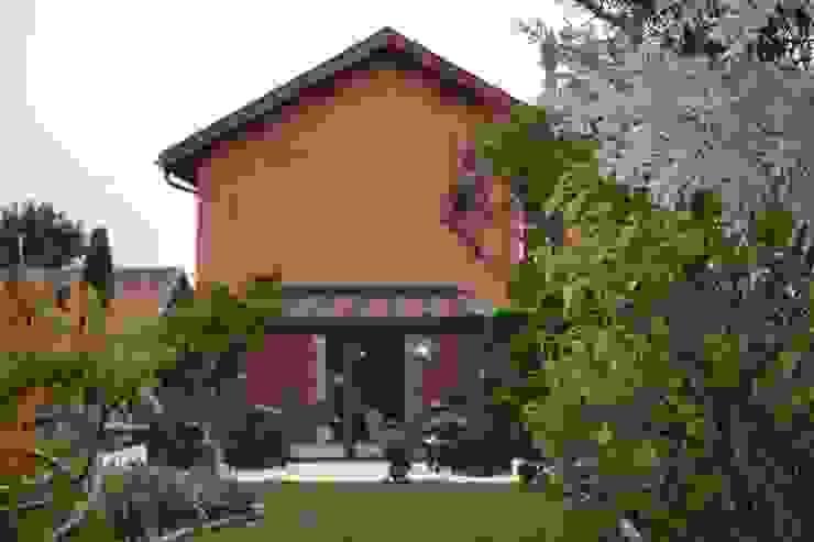 Vue Est Balcon, Veranda & Terrasse originaux par KREA Koncept Éclectique