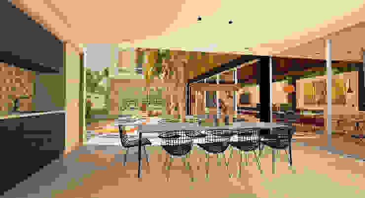 Casa Alphaville Casas modernas por Macro Arquitetos Moderno