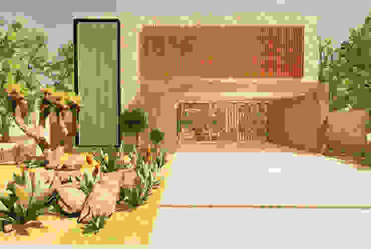 Casa Alphaville Garagens e edículas modernas por Macro Arquitetos Moderno