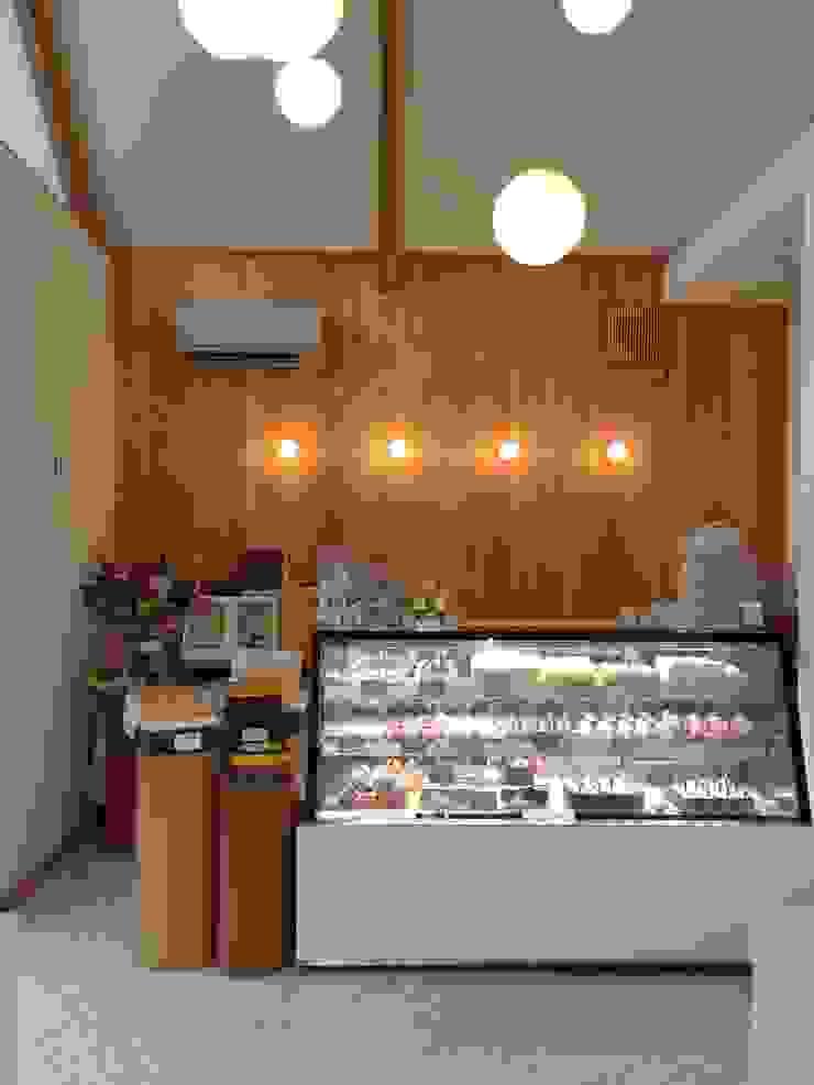店舗内 カントリーな 家 の 福井建築設計室 カントリー 木 木目調