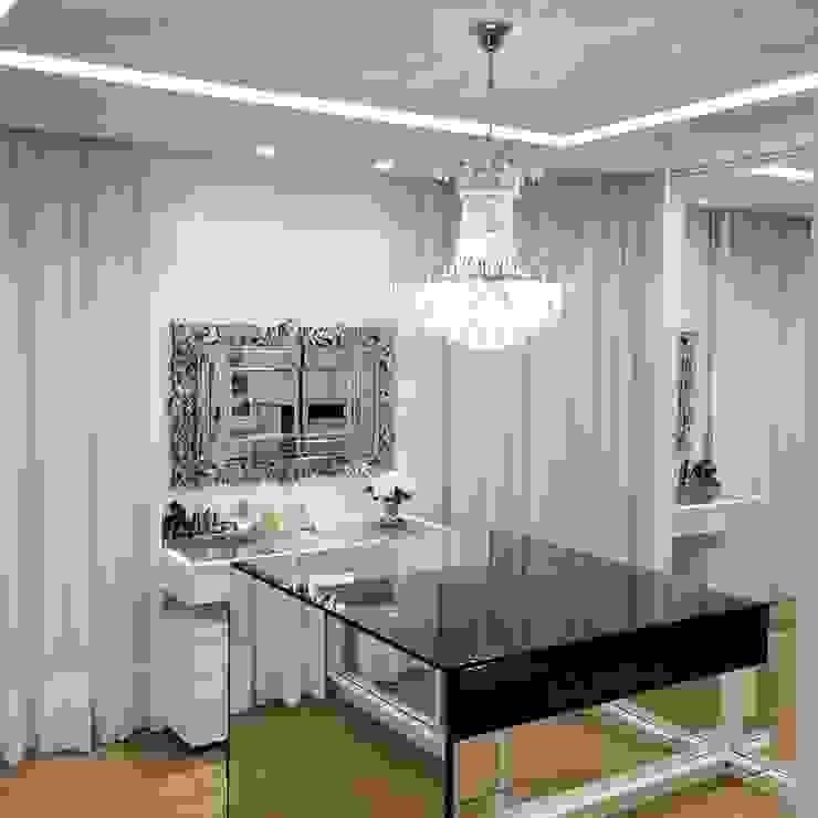 Palloma Meneghello Arquitetura e Interiores Moderne Ankleidezimmer Weiß