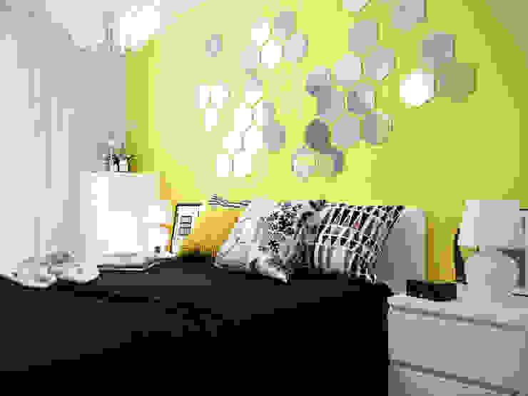 Dormitorios de estilo  de Коваль Татьяна, Moderno