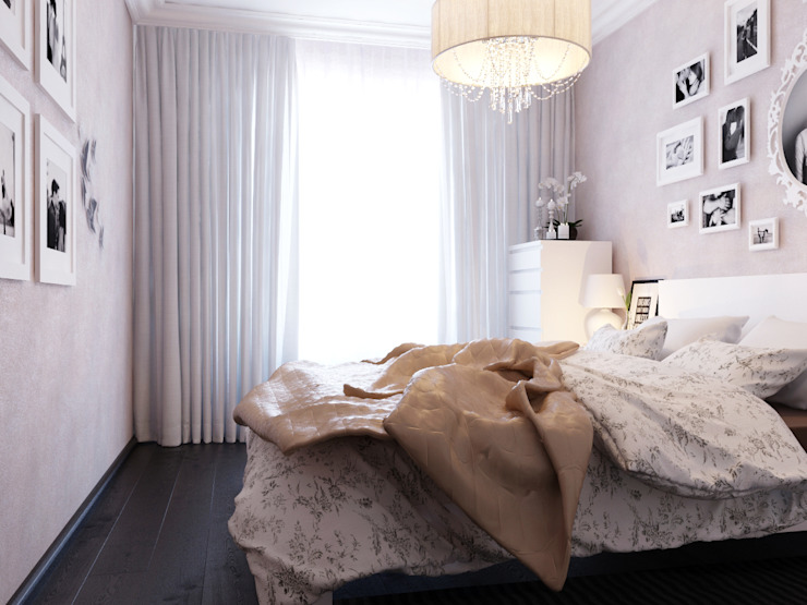 Спальня Спальня в стиле модерн от Коваль Татьяна Модерн
