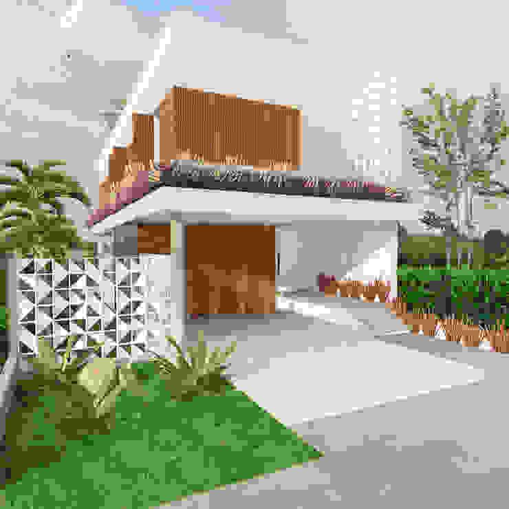 Casa L.&J. Casas modernas por Macro Arquitetos Moderno