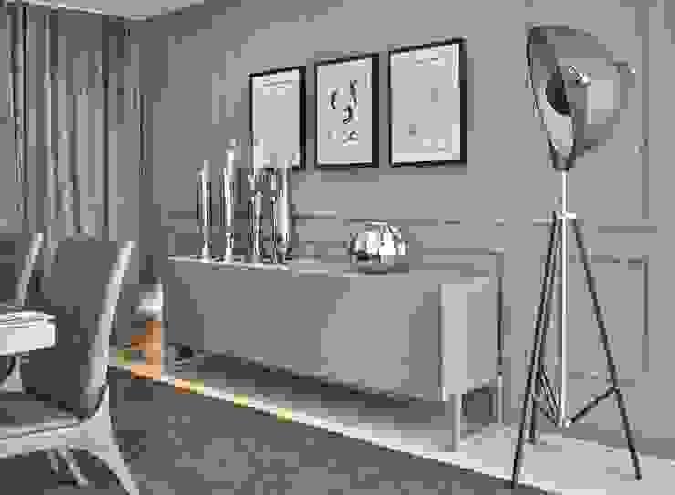 Decora Lider Salvador – Sala de Jantar Clássica e o Contemporânea Salas de jantar modernas por Lider Interiores Moderno