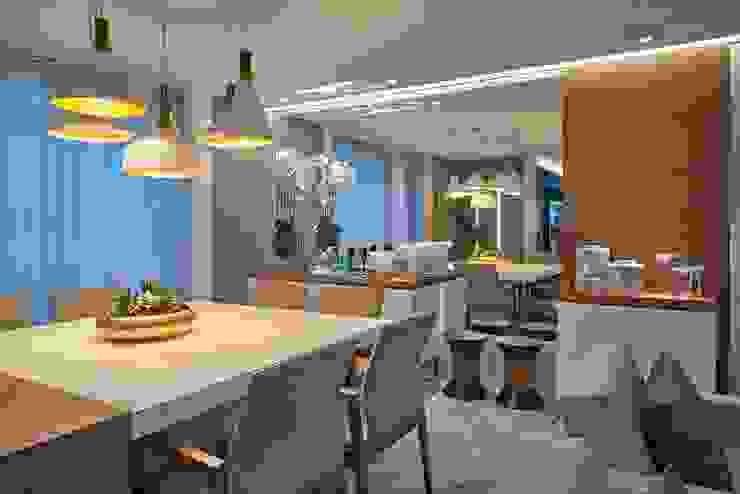 Decora Lider Vitória – Sala de estar, Home Theater e Jantar Salas de jantar modernas por Lider Interiores Moderno