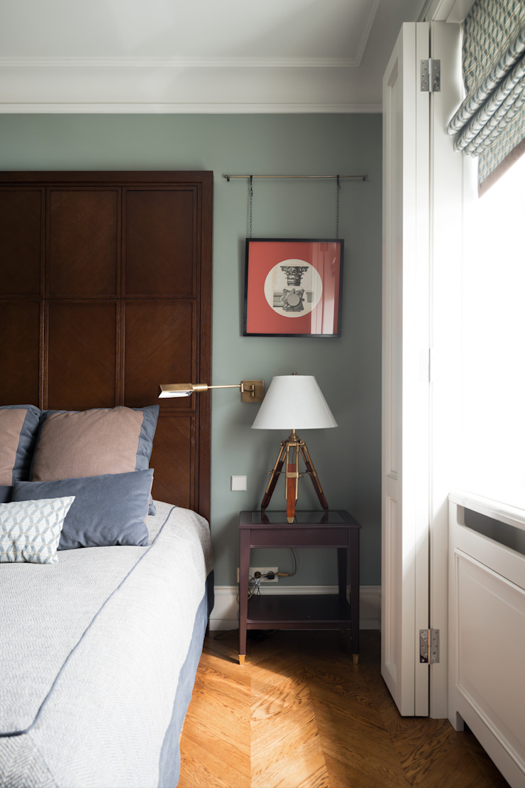 Фрунзенская 24 Спальня в классическом стиле от KA Классический