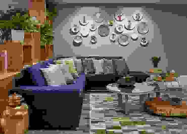 Decora Líder Vitória – Sala Descolada Salas de estar modernas por Lider Interiores Moderno