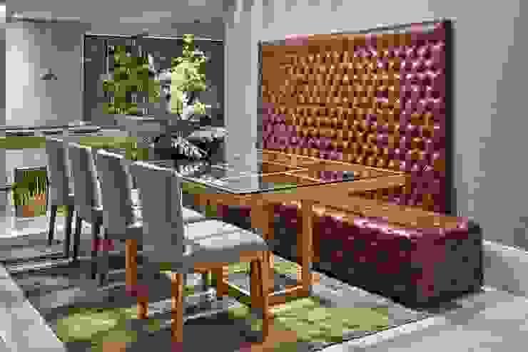 Decora Líder Vitória – Sala Descolada Salas de jantar modernas por Lider Interiores Moderno
