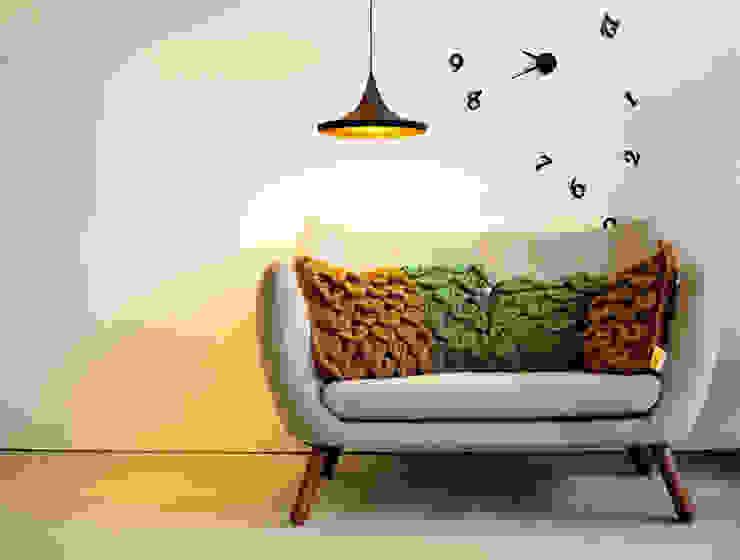 par Entre Led e Design Minimaliste Textile Ambre/Or