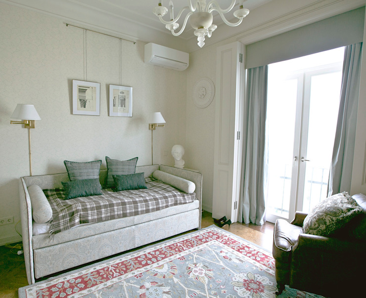 Фрунзенская 24 Гостиная в классическом стиле от KA Классический