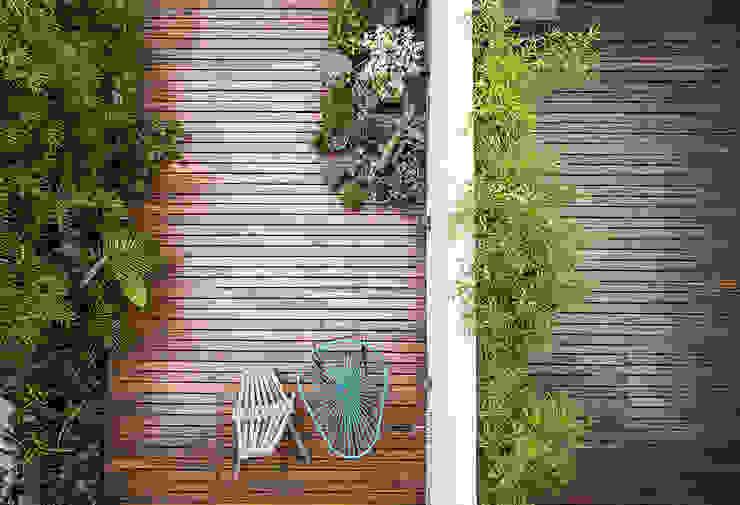 Patio Jardines de estilo moderno de MeMo arquitectas Moderno