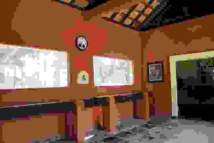 Área de Manejo Varandas, alpendres e terraços rústicos por Daniela Zuffo Arquitetura e Interiores Rústico