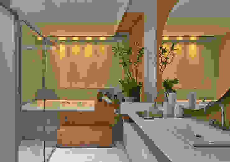 Bagno moderno di Isabela Canaan Arquitetos e Associados Moderno