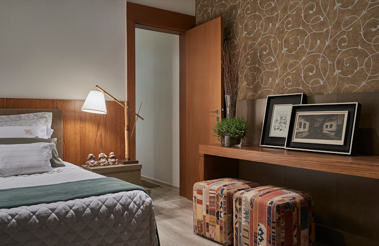 Bedroom by Isabela Canaan Arquitetos e Associados, Modern