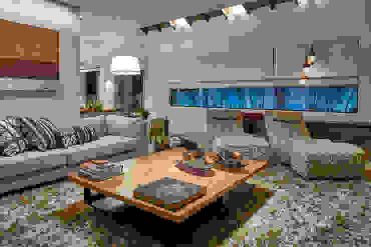 Residência AM Salas de estar modernas por Isabela Canaan Arquitetos e Associados Moderno