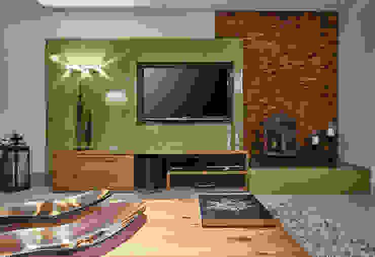 Salones de estilo moderno de Isabela Canaan Arquitetos e Associados Moderno