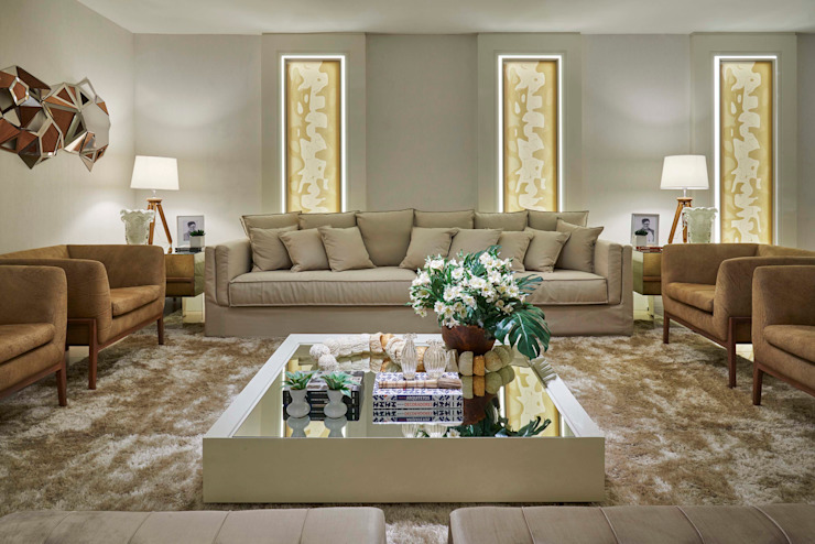 Living room by Lider Interiores,