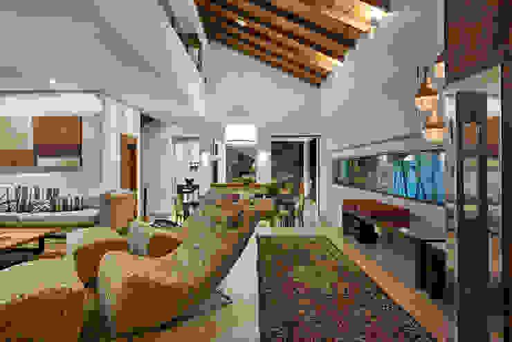 Salas / recibidores de estilo  por Isabela Canaan Arquitetos e Associados, Moderno