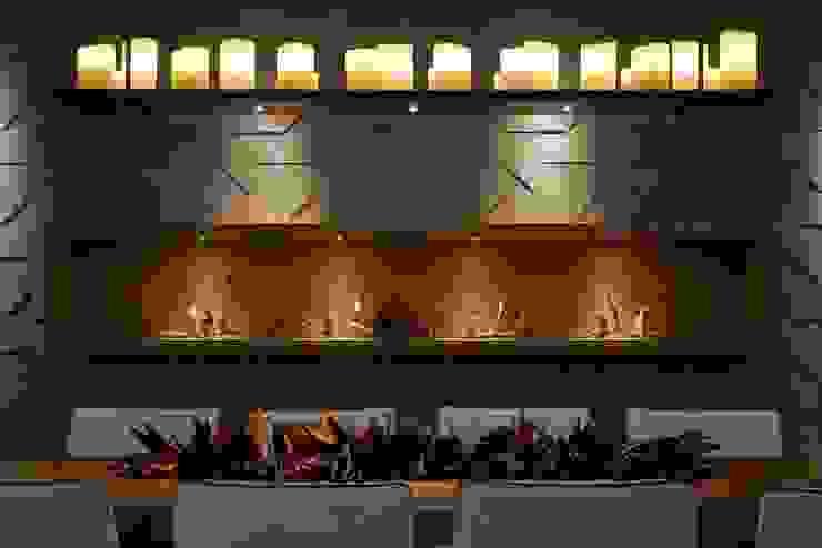 Столовая комната в стиле модерн от Lider Interiores Модерн