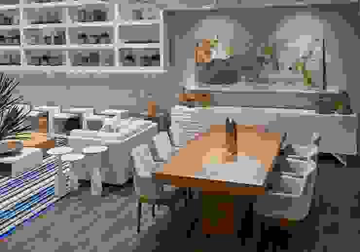 Decora Lider Vitória – Estar e Jantar para Comemorar Salas de jantar modernas por Lider Interiores Moderno