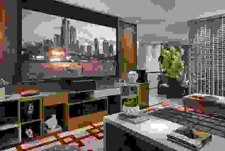 Decora Lider Vitória – Home+Office+Home Salas de estar modernas por Lider Interiores Moderno