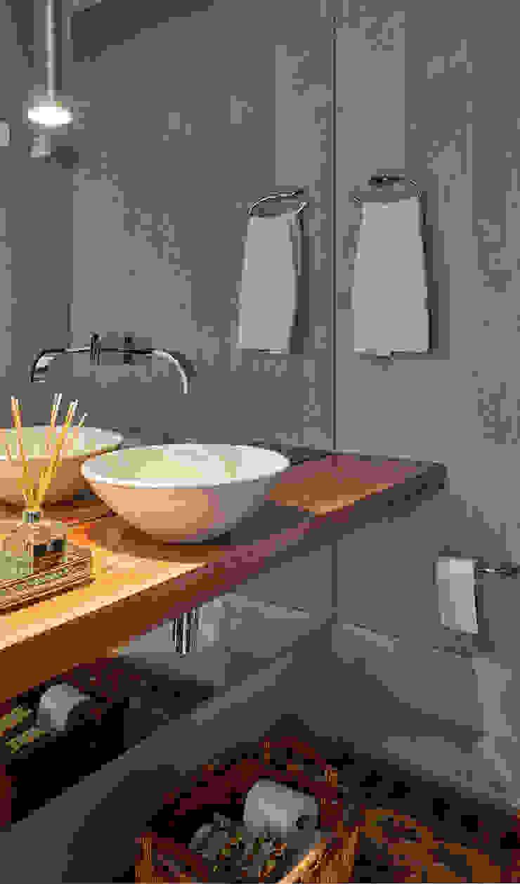 Moderne badkamers van Isabela Canaan Arquitetos e Associados Modern