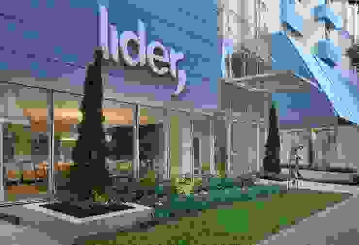 Decora Lider Vitória – Jardim dos Sentidos Jardins modernos por Lider Interiores Moderno