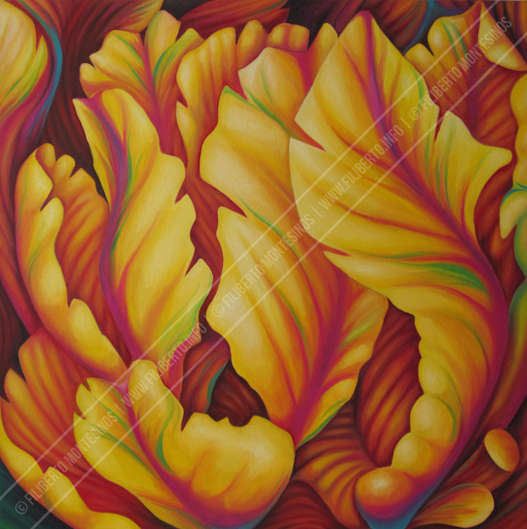 Filiberto Montesinos ArtworkPictures & paintings Yellow