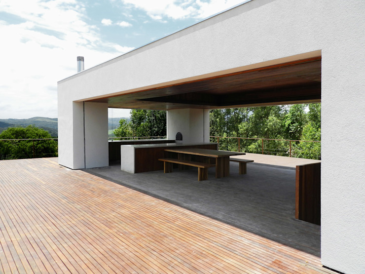 Modern houses by DAVID ITO ARQUITETURA Modern